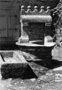 Un puits, collectage de la mission Basse-Bretagne de 1939 |