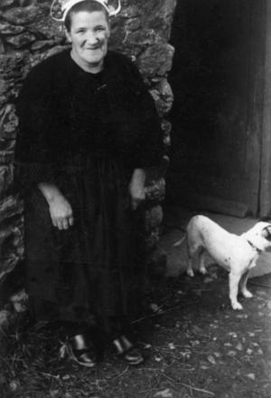 Madame Jaouen, collectage de la mission Basse-Bretagne de 1939 |