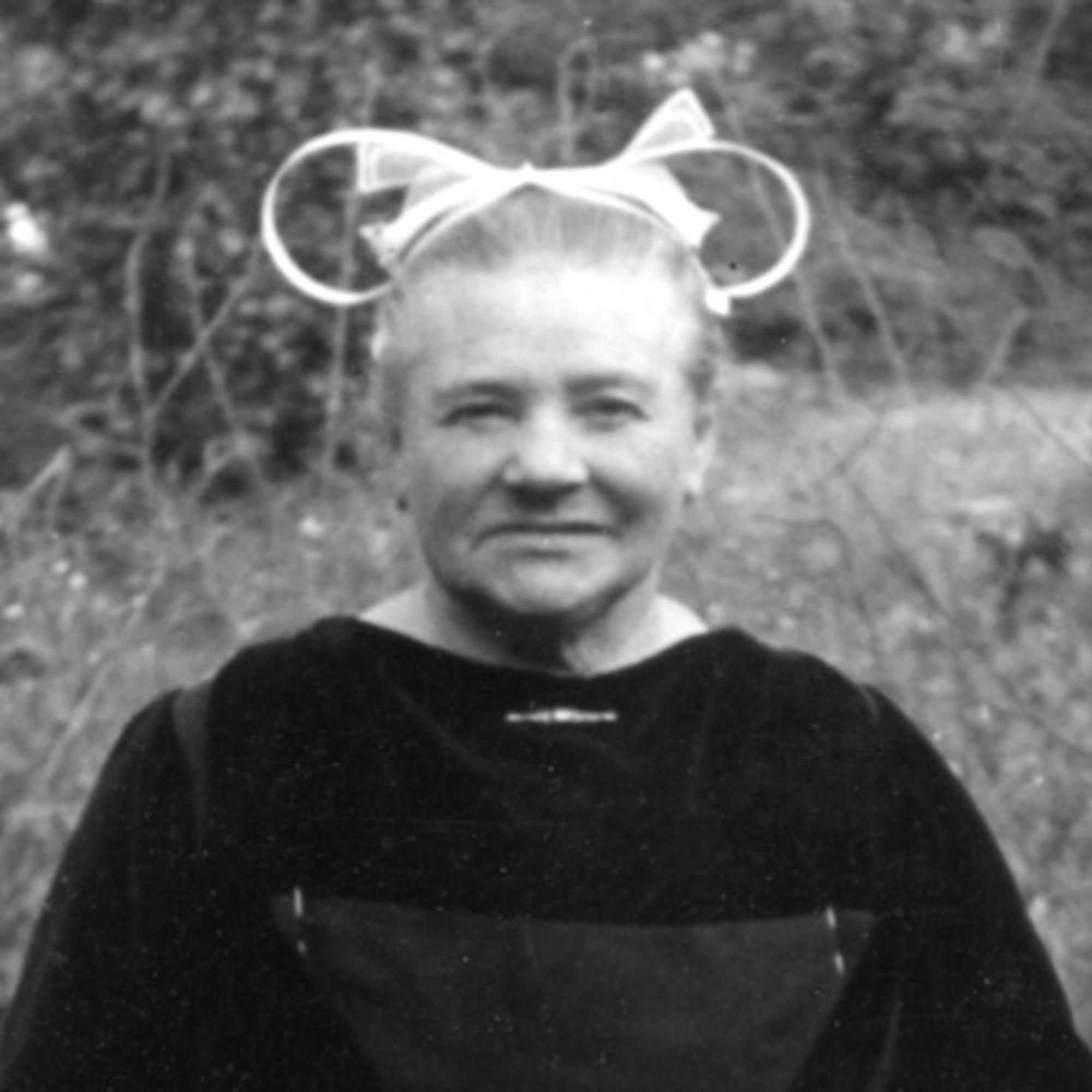 Françoise Caro portrait