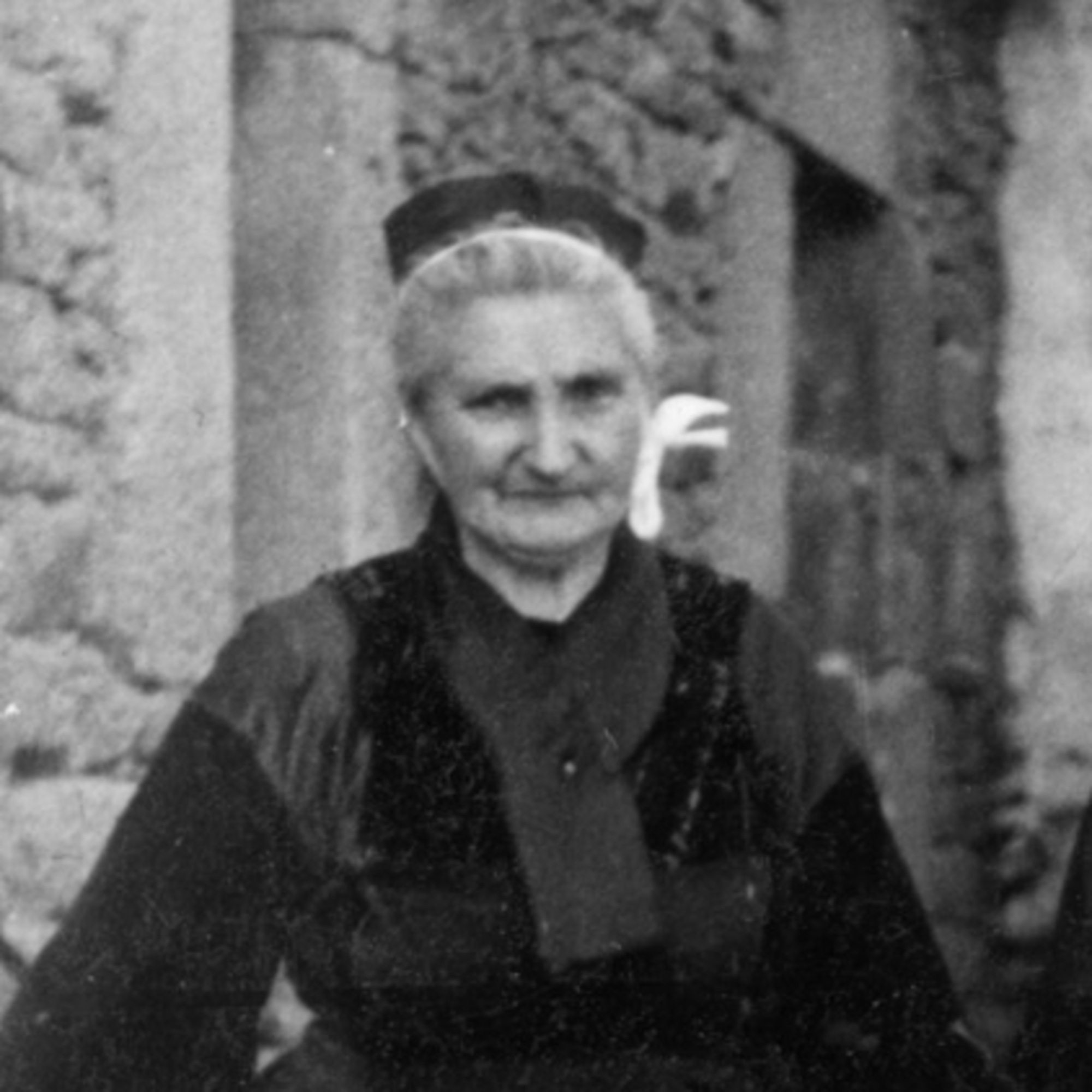 Mme Veuve Poulichet portrait