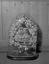 couronne de mariée de Mme Marie-Anne Pierre, née Jégo (sous globe) ; 24 juillet à 21h15 ; Surzur ; chez Mme Pierre ; [photo originale 14]