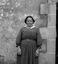 Mme Pavec avec sa coiffe de deuil ; 18 juillet à 11h45 ; Surzur ; L'Hospital ; [photo originale 75]