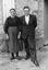Mme Danto et son fils ; 23 juillet à 18h ; Theix ; Le Moustoir ; [photo originale 122]