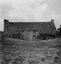 maison à toit de chaume près du château ; 24 juillet à 12h ; Theix ; Suscinio ; [photo originale 127]