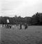 procession de Sainte Anne ; la procession se dirige vers le bûcher ; 30 juillet à 16h ; Brandérion ; propriété de M. de Goulen ; [photo originale 171]