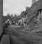 vue d'un coin du hameau ; 31 juillet à 9h ; Brandérion ; Squivit ; [photo originale 179]