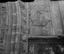 maison sur la place de l'église ; décor en coquillages incrustés dans le crépi ; 01 août à 12h30 ; Penmarc'h ; Saint-Guénolé ; [photo originale 189]