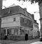 vieilles maisons de la place de la mairie ; 13 août à 14h30 ; Carhaix ; [photo originale 312]