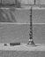 la bombarde de M. Jean-Marie Breton (à g. l'étui avec les anches) ; 14 août à 15h30 ; Le Faouët ; cour du patronage ; [photo originale 279]